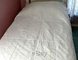 1950's Vintage Handmade Quilt-Sunbonnet Sue-Bedspread- Patchwork- Girl's Bedding