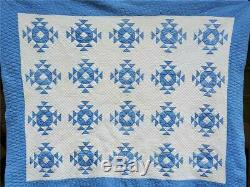 (40) AMAZING Vintage Quilt CROWN of THORNS Handmade