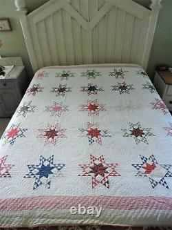 Antique Beautiful Star Quilt