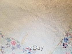 Antique handmade vintage quilt