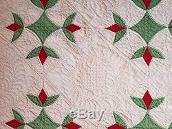 Antique vintage condition handmade quilt