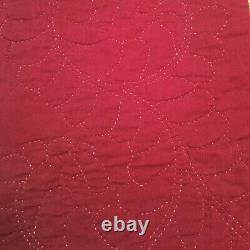 Beautiful Queen size Vintage Quilt, AUTUMN SPLENDOR, Amish Hand Made