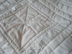 Handmade Pinwheel Patchwork Quilt Large Size Vintage Fabric Maggie's Farm