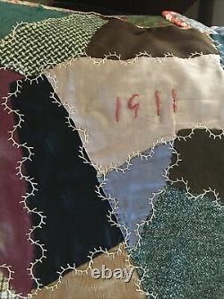 Handmade Vintage Patchwork Quilt