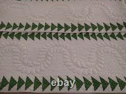 Polly Prior 1851 Antique Trapunto Quilt