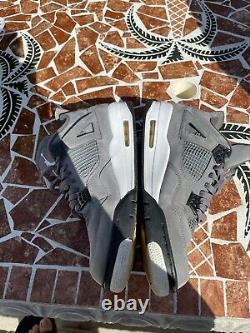 Size 10.5 Jordan 4 Retro Cool Grey 2019