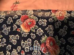 Vintage 1940's Handmade Hand Stitched Quilt