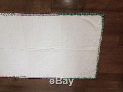 Vintage Amish Quilt-authentic Handmade-pennslyvania