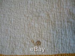 Vintage Diamond Design Handmade Quilt