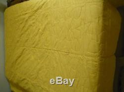 Vintage Handmade Red & White Quilt, Bright Color, Bold Pattern