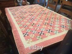 Vintage Quilt. Handmade