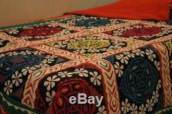 Vintage Sindhi Handmade Rilli Quilt Reversible
