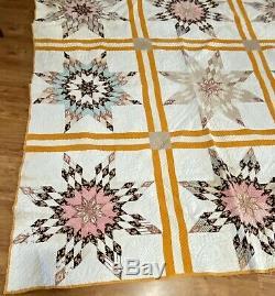 Vintage antique handmade quilt