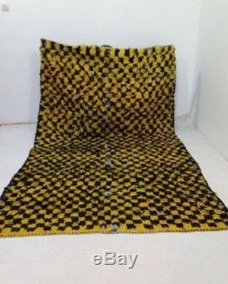 Vintage rug moroccan berber azilal morocco carpet handmade wool rug quilt kantha